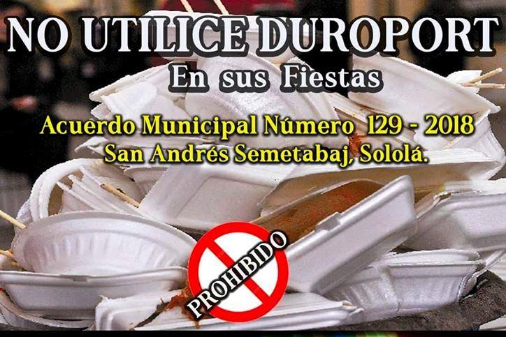 Con la renta de vajillas, comuna de San Andrés Semetabaj busca erradicar el uso de productos contaminantes - Prensa Libre