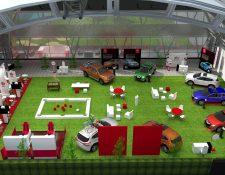 Una experiencia 360 ofrecerá Nissan a sus clientes en las instalaciones de Top Tee Cayalá. Foto Prensa Libre: Cortesía