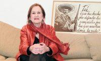 La artista Rina Lazo falleció a sus 96 años de edad.  (Foto Prensa Libre: Ángel Elías)