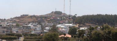 Vecinos de Santa Catarina Ixtahuacán y Nahualá se enfrentan de nuevo por un litigio de tierras. (Foto Prensa Libre: Mynor Toc)