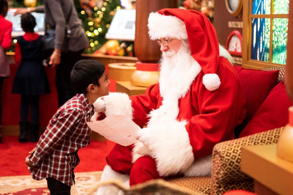 Fotos con Santa Claus