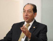 La Junta Monetaria ordenó a la SIB realizar las auditorías que corresponden al banco de Crédito luego de la captura de un directivo, informó Sergio Recinos presidente del Banguat. (Foto Prensa Libre: Hemeroteca)