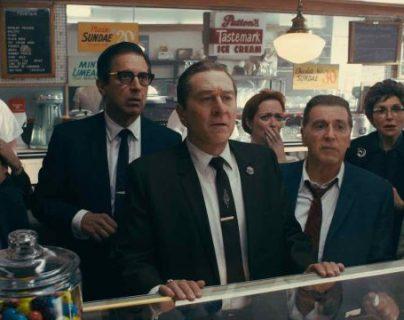 The Irishman está disponible en Netflix a partir del 27 de noviembre y se espera que tenga el miso éxito que Roma. (Foto Prensa Libre Netflix)
