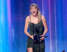 "Taylor Swift obtiene el AMA's por álbum favorito de pop/rock con su disco ""Lover"". (Foto Prensa Libre:  JC Olivera/Getty Images/AFP)."