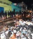 El MP será la institución encargada de determinar quiénes fueron las personas que causaron los daños. (Foto Prensa Libre: María Longo)