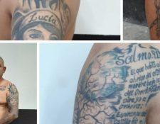 El Tijerilla fue identificado como líder de una banda de extorsionistas que funcionaba desde la cárcel de Cantel. (Foto Prensa Libre: PNC)