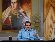 El gobierno de Maduro da un plazo de 48 horas a la delegación salvadoreña para abandonar el país. (Foto Prensa Libre: EFE)