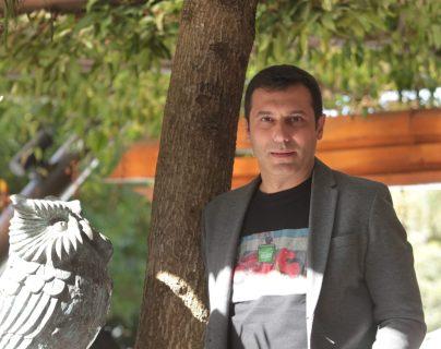Albert Cañigueral, connector quishare para España y América Latina, habló del futuro laboral y las tendencias durante el Festival Antigua. (Foto Prensa Libre: Norvin Mendoza).
