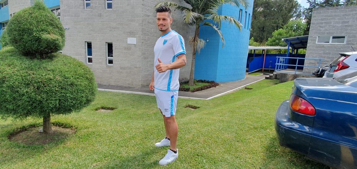 Stefano Cincotta asegura que le gustaría anotar contra Puerto Rico