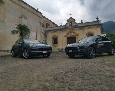 Grupo Los Tres y Porsche Guatemala realizaron el Roadtour con los modelos Macan y Cayenne. Foto Prensa Libre: Norvin Mendoza