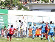 Los quetzaltecos tropezaron contra Sanarate en el oriente del país. (Foto Prensa Libre: Club Xelajú)