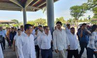 En Ciudad Hidalgo, Chiapas, México se suscribió el acuerdo entre el ministro de Finanzas, Victor Manuel Martínez y el secretario de Hacienda y Crédito Público de México Arturo Herrera. (Foto Prensa Libre: Ministerio de Finanzas)