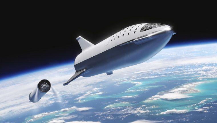 Tan reutilizable como un avión, así quiere Musk que sea su nave. (Foto: SpaceX)