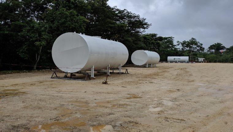 El pozo 3 del campo petrolero Fray en Bartolomé de las Casas, en Alta Verapaz empezará a producir petróleo por la empresa Alyonca en los próximos días. (Foto Prensa Libre: Cortesía)
