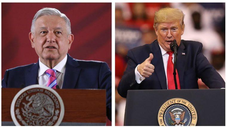 """Andrés Manuel López Obrador pidió a Estados Unidos """"cooperación sí, intervencionismo no"""" luego de que  Donald Trump anunciara que México tiene """"grupos terroristas"""". (Foto Prensa Libre: AFP)"""