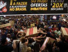 El Black Friday se ha extendido por todo el mundo, moviendo millones de dólares. (Foto: AFP)
