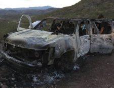 Nueve miembros de la familia LeBarón murieron en una emboscada en México. (Foto: AFP)