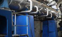 Recorrido en las instalaciones de la industria Atunera Centroamericana con la apertura de su nueva planta de harina de pescado.  foto por Carlos Hern‡ndez Ovalle 29/08/2019
