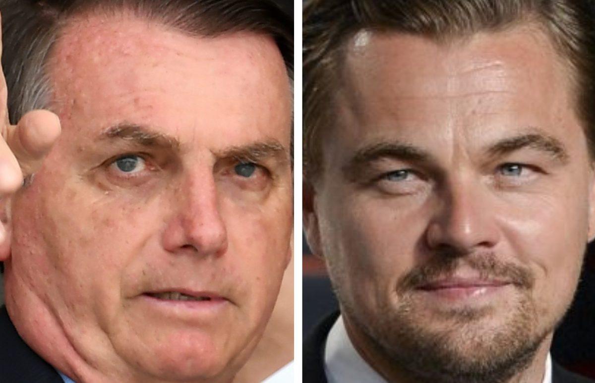 Presidente de Brasil acusa a Leonardo DiCaprio de colaborar con los incendios en Amazonía