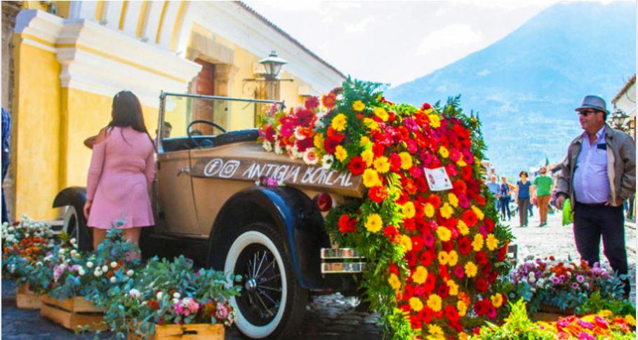 Declaran noviembre como el Mes de las Flores en Antigua Guatemala