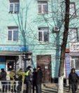 El centro educativo donde ocurrió el suceso al oriente de Rusia. (Foto Prensa Libre: EFE)