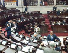 De darse la cancelación de FCN-Nación no habría mayores cambios en el juego legislativo. (Foto Prensa Libre: Hemeroteca PL)