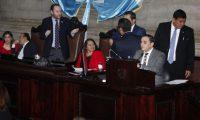 Los diputados no lograron el respaldo necesario. (Foto Prensa Libre: Dulce Rivera)