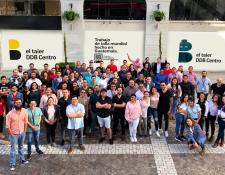 Un grupo de 120 profesionales buscan la innovación y la excelencia para sus clientes en el Taier DDB Centro. Foto Prensa Libre: Cortesía