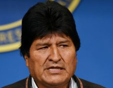 Evo Morales, convocó a nuevas elecciones, tras una auditoría de la OEA. (Foto Prensa Libre: AFP)