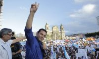 Jimmy Morales ganó la Presidencia en 2015 como abanderado de FCN-Nación. (Foto Prensa Libre: Hemeroteca PL)