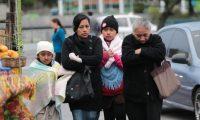 Frente Fr'o  afecta a personas de la ciudad de Guatemala, segœn el Insivumeh continuara el fr'o otras 24 horas mas.    Fotograf'a Erick Avila                            08/02/2015