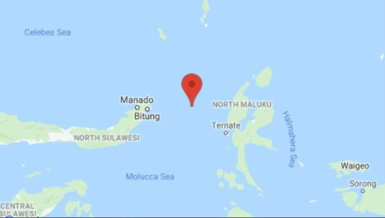 El terremoto causó alerta de Tsunami. (Foto Prensa Libre: G. Maps)