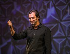 Jason Silva aconsejó a los emprendedores a pensar exponencialmente. (Foto Prensa Libre: Conecta Tecnológico de Monterrey)