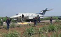 En abril fue localizado en las playas de Sipacate un jet (Foto Prensa Libre)