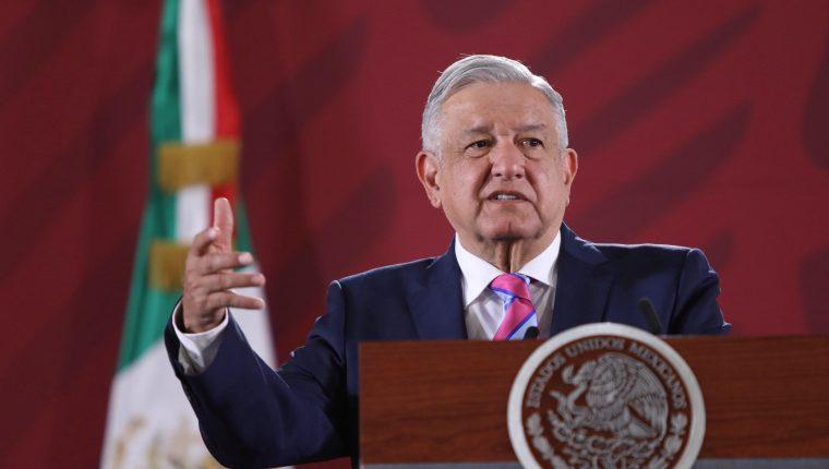 El presidente de México, Andrés Manuel López Obrador, rechaza presión de Trump sobre cárteles. (Foto Prensa Libre: EFE)