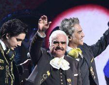 Los Fernández cautivaron en la gala de la 20 edición de los Latin Grammy. (Foto Prensa Libre: AFP)