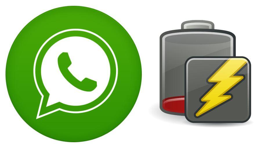 WhatsApp está causando problemas con el consumo de batería del smartphone
