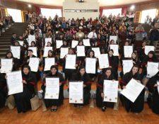 A partir del 2013 el Ministerio de Educación comenzó el programa de Formación Inicial Docente a nivel universitario. (Foto Prensa Libre: Hemeroteca PL)