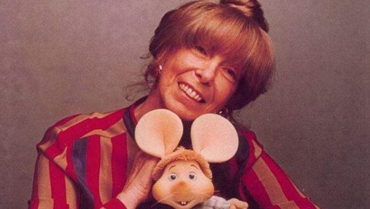 Maria Perego creó al entrañable ratón Topo Gigio a prueba y error entre 1959 y 1961. (Foto tomada de Rai Yoyo)