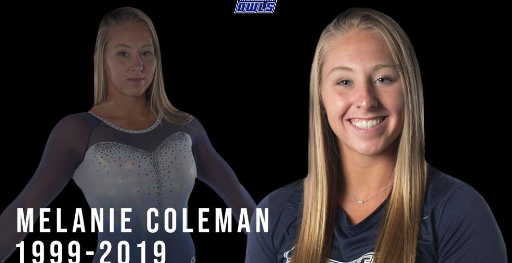 Muere la gimnasta Melanie Coleman tras sufrir accidente mientras entrenaba