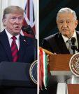 Donald Trump ofreció apoyo militar pero el presidente de México respondió que no es necesario.