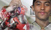 El piloto indonesio Afridza Munandar falleció tras un grave accidente en Malasia. (Foto Redes).