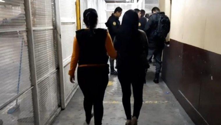 La detención ocurrió en San Miguel Petapa. (Foto Prensa Libre: PNC)