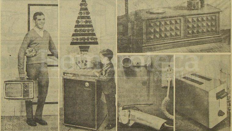A través de la publicidad de décadas pasadas podemos imaginar como vivieron la navidad nuestros padres y abuelos. (Foto: Hemeroteca PL)
