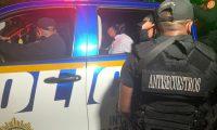 La niñera, responsable del secuestro, fue identificada por las autoridades como Miranda Vásquez Córdoba. (Foto Prensa Libre: PNC)