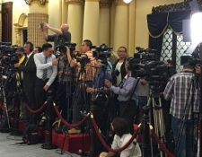 Diferentes organizaciones han expuesto su preocupación por restricciones a la libertad de expresión y diferentes forma de ataques contra periodistas. (Foto, Prensa Libre: Hemeroteca PL).
