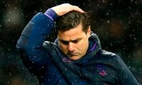 (FILES) In this file photo taken on November 09, 2019, Tottenham Hotspur's Argentinian head coach Mauricio Pochettino reacts during the English Premier League football match between Tottenham Hotspur and Sheffield United at Tottenham Hotspur Stadium in London. - Tottenham Hotspur sacked manager Mauricio Pochettino on November 19, 2019 just five months after reaching the Champions League final following a poor start to the Premier League season. (Photo by Ian KINGTON / AFP) / RESTRICTED TO EDITORIAL USE. No use with unauthorized audio, video, data, fixture lists, club/league logos or 'live' services. Online in-match use limited to 120 images. An additional 40 images may be used in extra time. No video emulation. Social media in-match use limited to 120 images. An additional 40 images may be used in extra time. No use in betting publications, games or single club/league/player publications. /