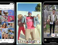 Reels es la nueva función de Instagram que busca competir con TikTok. (Foto Prensa Libre: Tomada de techcrunch.com)