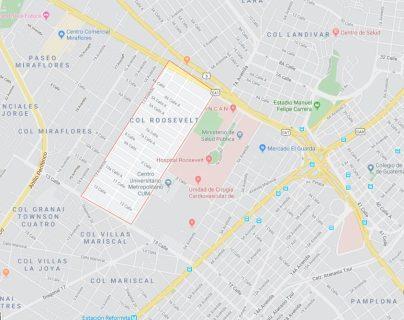 El hecho ocurrió en la colonia Landívar. (Google Maps)