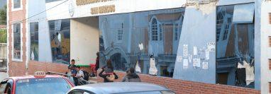Departamental de San Marcos y que quedó inhabitable desde el terremoto del 2012. (Foto Prensa Libre: Whitmer Barrera)